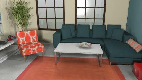 MU12 - Living room - by ani_kapanova