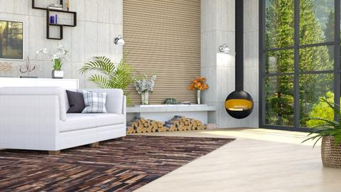 Relaxing Afternoon 1b - Living room  - by Siti Idrus