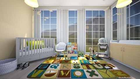Gender Neutral Bedroom - Kids room - by Chicken202