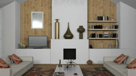 EccentricGent - Eclectic - Living room  - by camilla_saurus