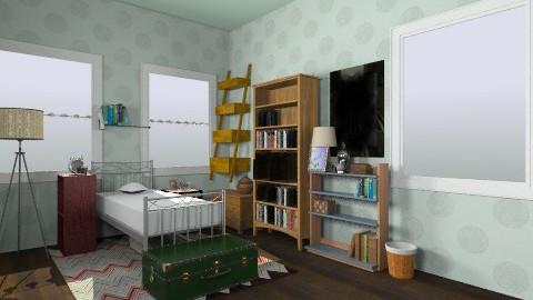 Students room - Rustic - Bedroom  - by LAS95