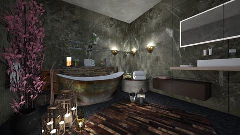 Bath - Rustic - Bathroom  - by Kc Bee