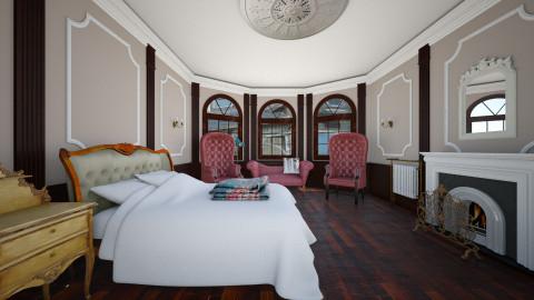 old house - Bedroom - by Ellarilynn
