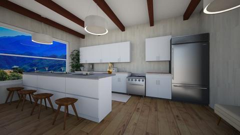 farmhouse kitchen - Kitchen  - by ZoeyMatt