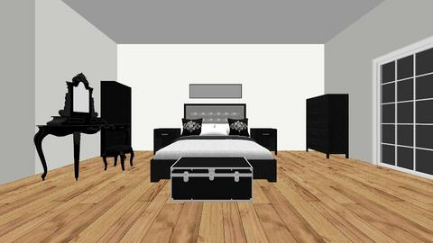 black - Glamour - Bedroom  - by nonveinteressa05