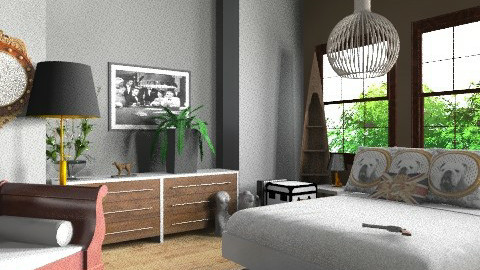 robs gaff - Classic - Bedroom  - by decorj