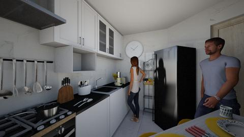 Cozinha 4 - Kitchen  - by larissacarminato