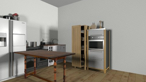 Emma One room house - Rustic - by kitty123123