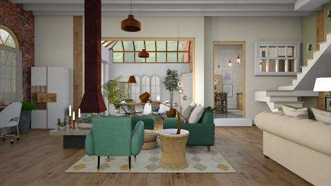 New and old - Eclectic - Living room  - by augustmoon