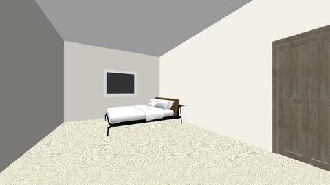 my bedroom - Bedroom  - by ECripps1
