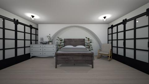 Japandi tiny home - Modern - Bedroom  - by Idkwhy