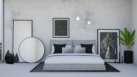 Concrete - Bedroom - by igell90