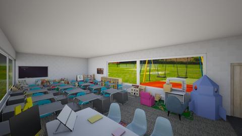 Classroom - by izzyluck18