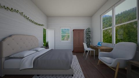 cottage bedroom - Bedroom - by charlottefolk