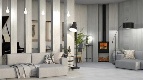 Scandi_i think - Living room  - by KittyT6