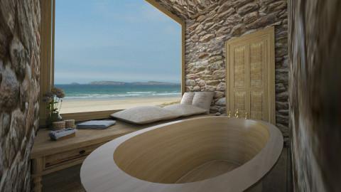 natural and minimal - Bathroom  - by deleted_1550519236_sorroweenah