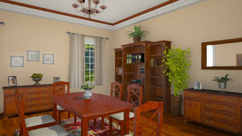 116 - Country - Dining room  - by GALE88