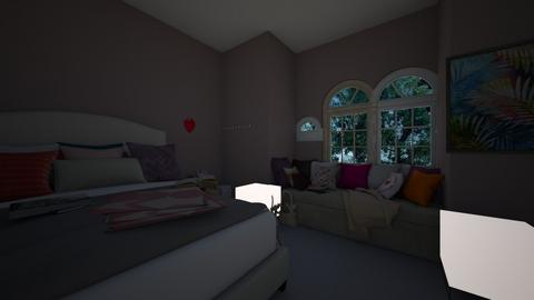 Collage bedroom - Rustic - Bedroom  - by Little_Laya