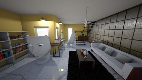 modern office - Office - by alomireles