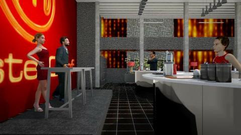 MASTER CHEF  - Modern - Kitchen - by hanonrose