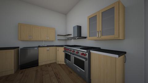 4e ontwerp - Kitchen  - by hans1104
