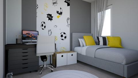 ben123 - Eclectic - Bedroom  - by Karen Brite