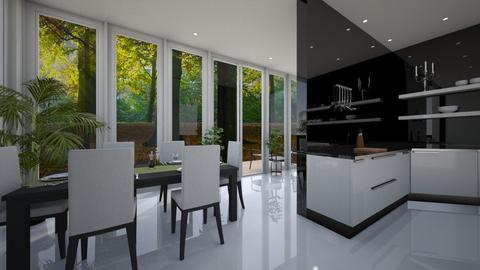 kitchen conservatory - by chloelm92