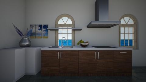 Ocean Kitchen - Kitchen  - by The Dragon Lady
