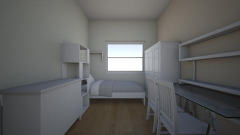 lozko za regalem - Kids room - by aska525
