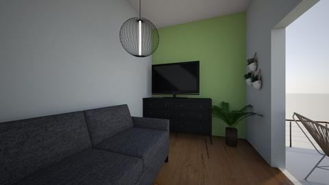 Simple room 2 - Living room  - by Meghan White