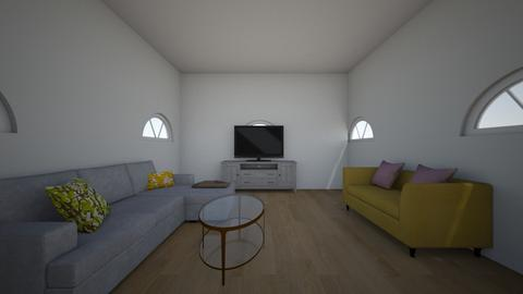 Living room - by Crocsrule2