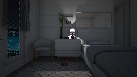 Sketchsaw room - Minimal - Bedroom - by sasasaaaw