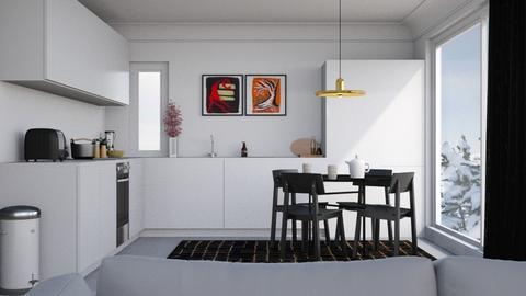 Designer Kitchen n Dining - Modern - Kitchen  - by HenkRetro1960