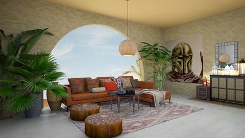 Mandalorian Living Room - by Feeny