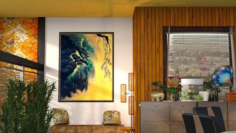 Asian Art - Rustic - Bathroom  - by Shelley0514