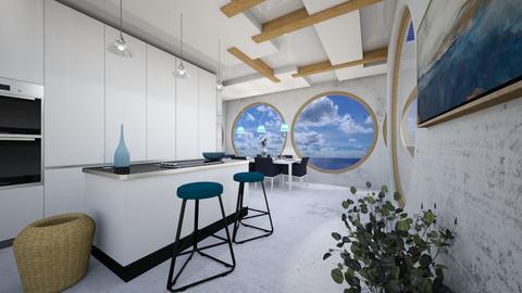 ocean blue - Kitchen  - by Mounir HSSIN