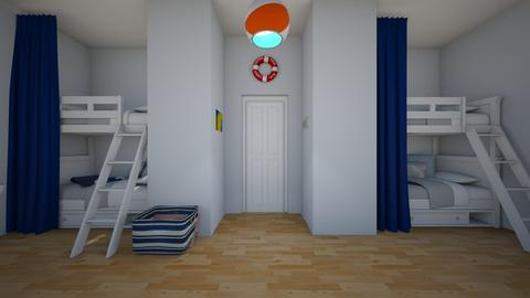 beach - Bedroom  - by herrincook