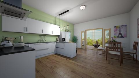 kitchen - Kitchen  - by ievameda_7