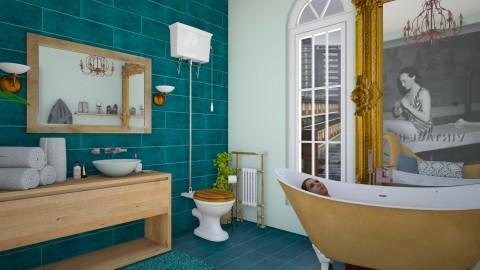 bathroom - Classic - Bathroom - by donella