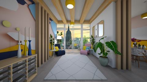 playful hallway - by Fruuzs