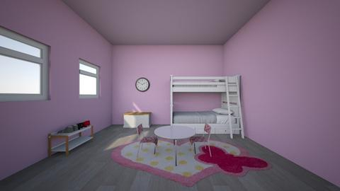 Kids bedroom - Bedroom  - by AshleyCopto