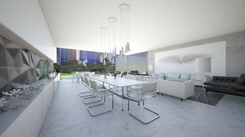 fun - Retro - Dining room  - by Talles Paganotti