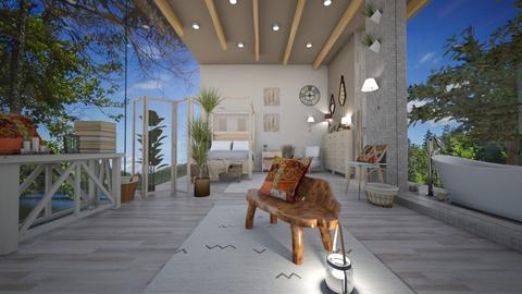Bohemian Bedroom - Bedroom  - by PRINZESSINBLUME