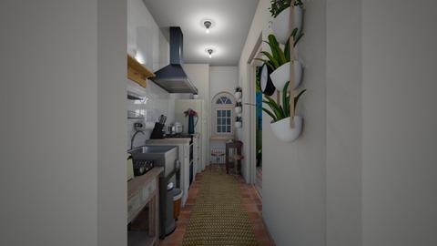 narrow cuisine - Kitchen - by mariazurkan