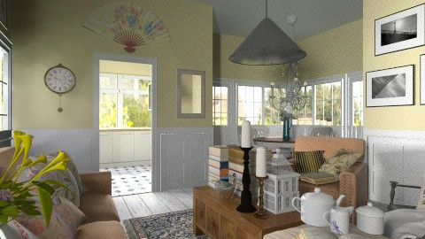 Rustic Living - Rustic - Living room  - by hetregent