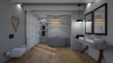 Artist Library in SD - Modern - Bathroom - by LuzMa HL