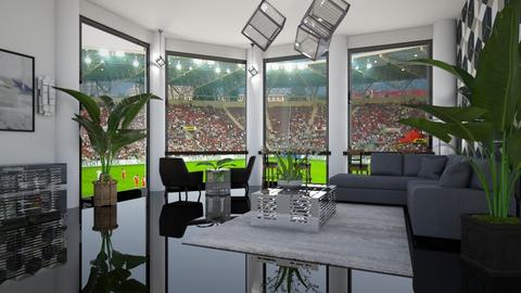 Luxurious Skybox - Living room  - by matina1976