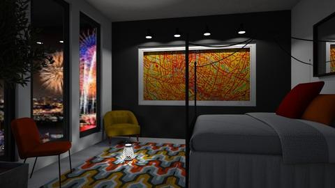 Mildred Inspired Bedroom - Modern - Bedroom  - by millerfam