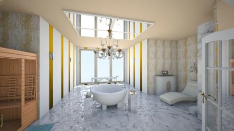 Glamour Bathroom - Glamour - Bathroom  - by interiordesignmajor013