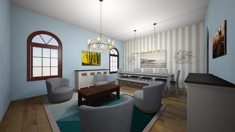 dining room  - by Maya Raymond